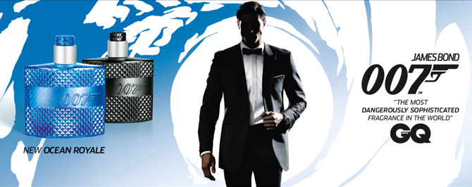 James Bond 007 Ocean Royale Parfum voor mannen