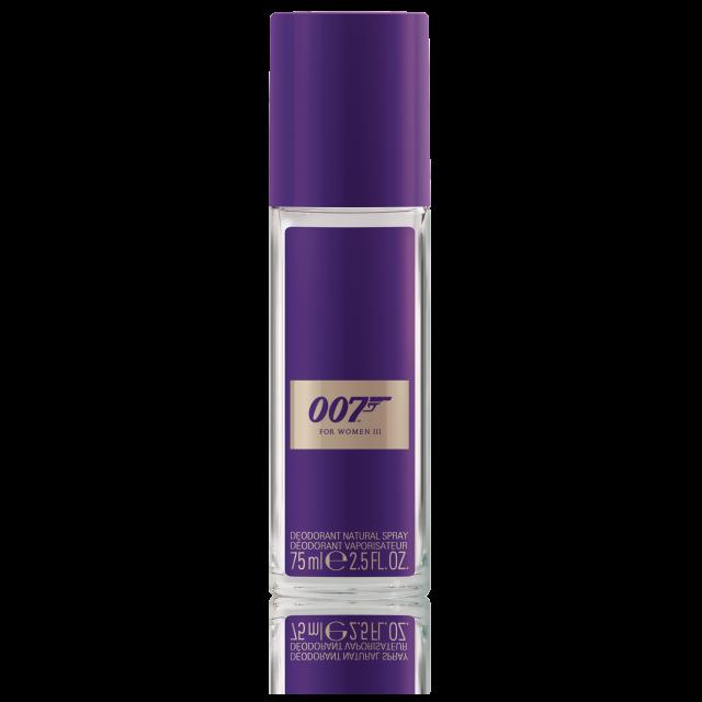 007 for women iii deo spray james bond parfum. Black Bedroom Furniture Sets. Home Design Ideas